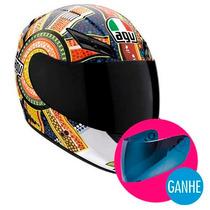 Capacete Agv K3 Rossi Dreamtime - Onmoto!