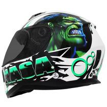 Capacete Nasa Sh-881 Hulk - 61/62
