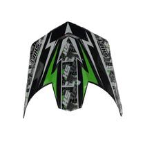 Pala Aba Visor Capacete Shift Agent Verde - Trilha Motocross