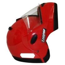 Capacete Taurus Zarref Classic Robocop Vermelho - 60