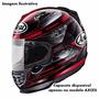 Capacete Arai Helmet Axces 2 Chronus Red Vermelho Original