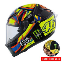 Capacete Agv Pistagp Winter Test Monster Rossi Pto 55/56 Rs1