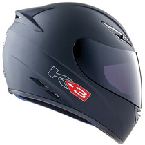 Capacete Agv K3 Preto Fosco Valentino Rossi 45 Moto Gp K-3