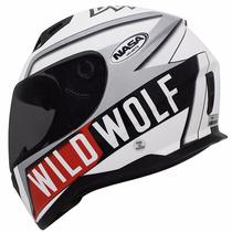 Capacete Nasa Sh 881 Wild Wolf Super Leve