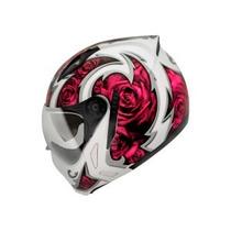 Capacete Feminino Peels Mirage Rose C/oculos Frente Removive
