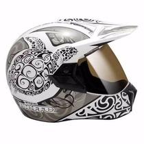 Capacete Moto Bieffe 3 Sport Maori Cross,enduro E Street