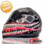 Capacete Personalizado Grafitado Venom 3d Ls2 Ff358
