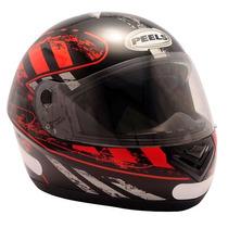 Capacete Integral Motociclista Peels Spike Cruiser Preto