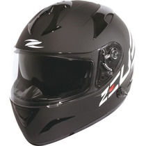 Capacete Zeus 806a Matt Black Side Logo