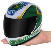 Mini Capacete Pro Tork Brasil World Cup Viseira Articulada