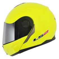 Capacete Ls2 Ff386 Articulado Amarelo Fluor 57/58 Rs1