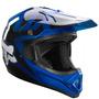 Capacete Fox Vf1 Race Azul 59/60 Rs1