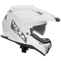 Capacete Bigtrail Texx Mx Double Vision