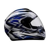 Capacete Helt Race Modelo Azul