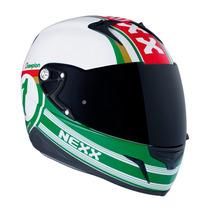 Capacete Nexx Xr1.r Champion - Verde Tri-composto Leve