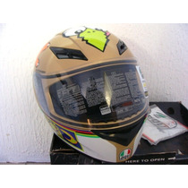 Capacete Agv K3 Valentino Rossi - The Chicken Original Novo