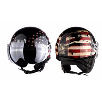 Capacete Kraft Plus Custom Usa