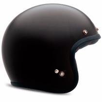 Capacete Bell Custom 500 Solid Preto Fosco