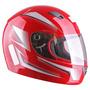Capacete Moto Ebf 7 Line - Vermelho - Tam. 58