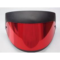 Viseira San Marino Vermelha (espelhada)