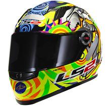 Capacete Integral Ls2 Ff358 Alex Barros Moto Gp Frete Grátis