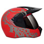 Capacete 3 Sport Red Nose Red