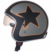 Capacete Zeus 380 F - Custom - Harley Davidson -vintage B/o