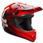 Capacete Fox Vf1 Race Vermelho 57/58 Rs1