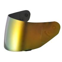 Viseira Dourada Espelhada Capacetetexx Ls2 Ff366