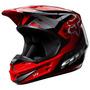 Capacete Fox V1 Race 14 Vermelho 59/60 Rs1