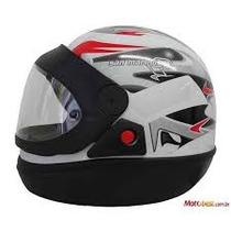 Capacete Moto Tamanho 58 Branco - San Marino