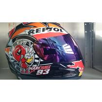 Capacete Repsol Abelha 93 Df2 Helmet Tenho Monster Robocop