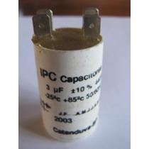 Capacitor Partida 3uf 440vac P/ Diversos Motores