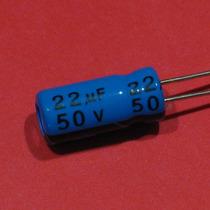 40 Peças * Capacitor Eletrolítico Radial 22uf 50v 85º