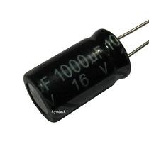 20 Peças * Capacitor Eletrolítico Radial 1000uf 16v 105°c