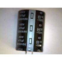 Capacitor Eletrolítico 470uf X 450v 105ºc