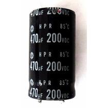 10 X Capacitor Eletrolítico 470uf X 200v Seminovo De Fonte