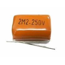 Capacitor Poliéster Metalizado 2,2uf *250v (20pçs) Promoção