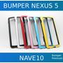Bumper Capa Case Dual Color Nexus 5 + Película