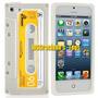 Iphone 5 Ou 5s - Capa Retrô Fita Cassete Branco