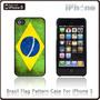 Case Iphone 5 Bandeira Do Brasil Retrô - Frete Grátis