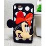 Capa Capinnha Iphone 5/5s Minnie Transparente 3d Frete 9,99
