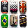 Capa Case Galaxy S3 Duos I8262 Tematicas + Pelicula