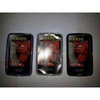 Capa Silicone Tpu P/ Celular Lg Opimus L3 Li E435f E435 E430