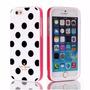 Capinha Case Iphone 6 4.7 - Bolinhas Preta Kate Spade