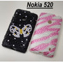 Capinha Case Capa Para Nokia Lumia 520 Em Strass