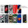 Capa Case Bumper Apple Iphone 5 + Película Dupla+frete Fixo