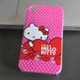 Capa Case Hello Kitty Apple Iphone 4g 4s - Rosa