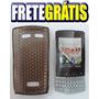 Capa Asha Emborrachada Para Nokia N303 - Fume