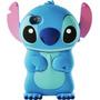 Capa Case Para Iphone 4 4g 4s - Modelo Stitch 3d Disney